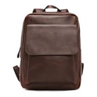 Backpack Pria / Tas Kulit Import Korea Cowok / Tas Trending HTI0885