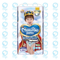 MamyPoko Pants Royal Soft L 34 Boys
