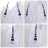 Celana Basket Nike Elite Training PUTIH STRIP HITAM Grade Original
