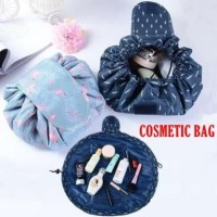 Vely Magic Travel Pouch / Lazy Cosmetic Big Capacity Bag Tas Kosmetik