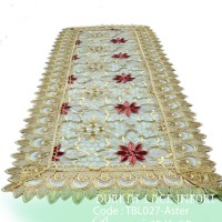 Taplak Meja Tamu Burkat Lace import TBL027