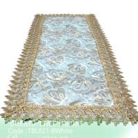Taplak Meja Tamu Burkat Lace Burkat import TBL021