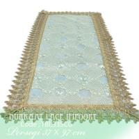 Taplak Meja Tamu Burkat Lace Burkat import TBL335
