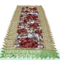 Taplak Meja Tamu Burkat Lace Import WB019