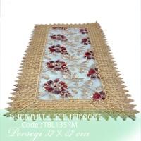 Taplak Meja Tamu Burkat Lace import TBL135