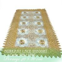 Taplak Meja Tamu Burkat Lace import TBL139