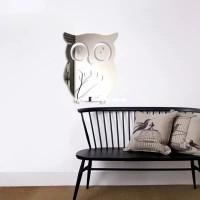 Stiker cermin OWL Burung Hantu