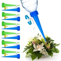 Self Watering Adjustable Stakes System Vacation Plant Waterer