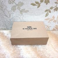 Kotak Packaging Dompet Lanyard Gantungan Aksesoris Coach Box Softcase
