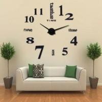 Jam Dinding Raksasa Besar DIY Giant Wall Clock Diameter 80-130cm