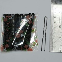 50pcs Hair pin sedang / bobby pin U / hairpin 7cm / hair clip