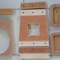 Jual Potongan Bahan 3 set Box Q10 Line Array Speaker (Pesanan)