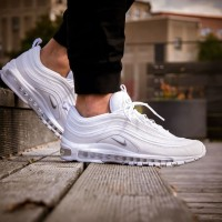 Sepatu Nike Air Max 97 Triple White Premium Original