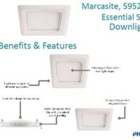 Jual Downlight LED Philips MARCASITE 14W - 59528 D150 - Puti Limited