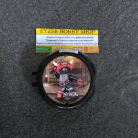Lego Ninjago Ninja hitam minifigure bootleg kw murah