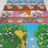 Tikar Spons JUMBO /Karpet/Matras PE Foam Double Gambar (SiCepat/Ninja)
