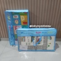 Grosir karpet bayi PARKLON Korea baby folding folded PE playmat alas b