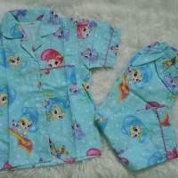 Baru Piyama anak / Baju Tidur / katun catra Terlaris