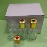 TOLA 12 ML botol bibit parfum roll on tola permata. harga per 1 lusin