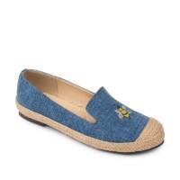 Symbolize Yara Flats Shoes - Biru