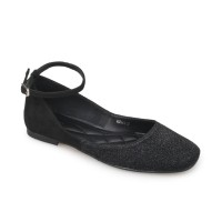 Symbolize Leoni Flat Shoes - Hitam