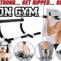 Iron Gym Alat Fitness Pull Up Alat Olahraga Angkat Badan New