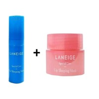 Paket Laneige Eye and Lip Sleeping Mask Original New