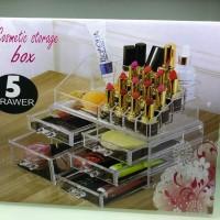 Acrylic make up organizer / rak tempat penyimpanan akrilik lipstick