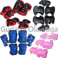 New DEKER INLINE SKATE / Pelindung Lutut Sikut Sepatu Roda Anak