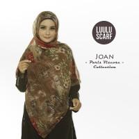 Luulu Scarf JOAN Jilbab Pashmina Motif Import Paris