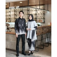 BATIK BROKAT PAGER BUNGA Kebaya Modern Hijab Remaja Style Modis