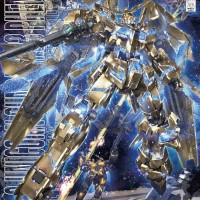 Bandai Gundam MG 1/100 Unicorn Phenex Gold Plating ORI Gunpla Model