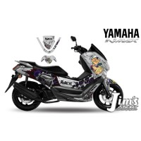 DECAL STICKER MOTOR YAMAHA NMAX POPAYES EDITIONS