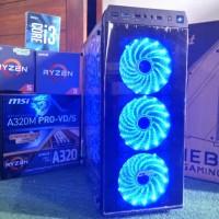 PC Gaming Ryzen GTX 1060 6Gb 8GB Ram DDR4 SSD 120Gb setara core i5