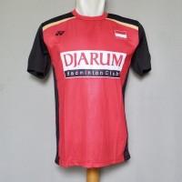 Baju Olahraga Kaos Badminton Jersey Bulutangkis Yonex Y41 Red