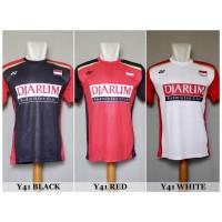 Baju Olahraga Kaos Badminton Jersey Bulutangkis Yonex Y41 Murah