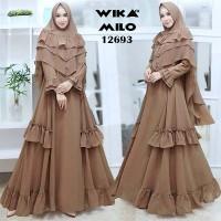 Baju gamis murah GAMIS FREE HIJAB BIG SIZE baju muslim wanita