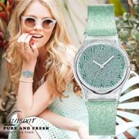 Star Watches feminino Womens mujer Transparent Electronic