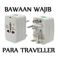Universal travel adaptor/colokan multi/colokan universal international