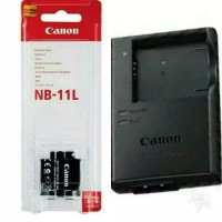 Paket baterai dan charger kamera canon A2300/A2400 IS/A3400 IS