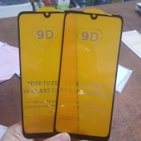 TEMPERED GLASS FULL LEM 9D XIAOMI REDMI NOTE 7 NEW 2019 - BLACK ONLY