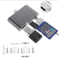 VONETS HUB OTG TYPE C SIM CF SD TF CARD READER CONVERTER FOR MAC/S8/9