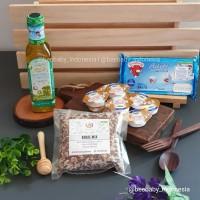 Paket Lengkap MPASI (Evoo Casa, Belcube, Unsalt Butter, Beras 250 gr)