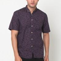 MENTLI Kemeja Pria Magnolia Casual Shirt