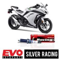 Busi BRISK Silver Racing AR10S-9 untuk Motor Kawasaki Ninja 250