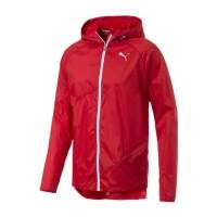 Jaket Pria PUMA Lightweight Hooded Red 517285-03