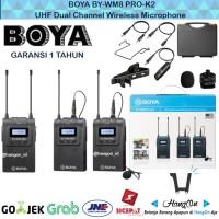 BOYA BY-WM8 Pro-K2 UHF Dual-Channel Wireless Microphone ORIGINAL 2TX
