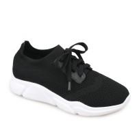 Symbolize Walbi Sneakers Tali - Hitam
