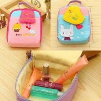 Tas kosmetik / hand made cotton cosmetics bag ukuran M