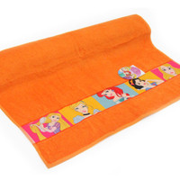 Disney All Princess Bathtowel sublime PRCS20002 ORANGE
